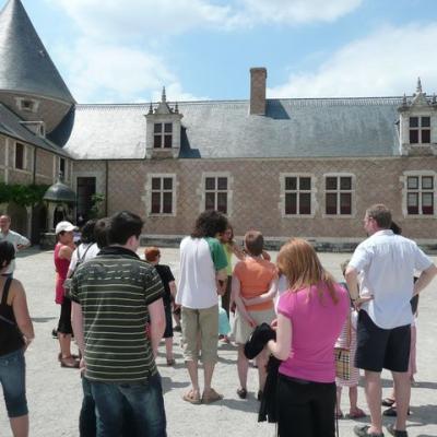 Visite du château de Chamerolles