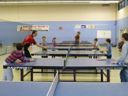 Découverte du ping-pong