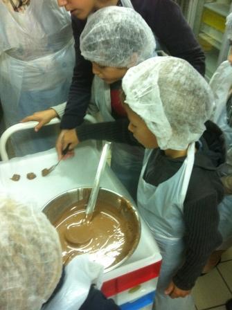 visite atelier chocolat